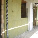 Isolamento-tubo-scarico,-parete,-pilastro